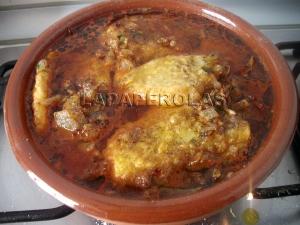 Es muy importante dejar cocer hasta que las patatas estén blandas, no tengáis prisa en retirarlas del fuego