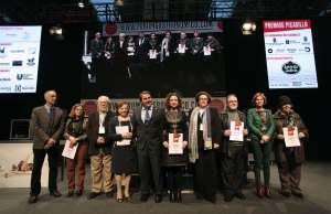 Los galardonados con los Premios Picadillo / EFE