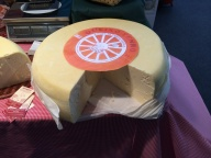 Un gigantesco queso